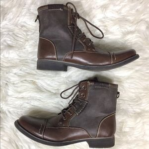 Madden Bach Vegan Leather Ankle Boots
